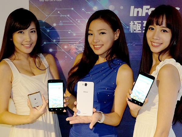 InFocus M530八千有找  前後1,300萬畫素尬HTC Desire Eye