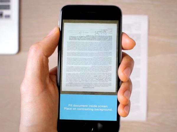 Evernote 推出 Scannable,名片掃描直接建立手機通訊錄