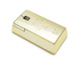 沒錢也能用金磚造型的無線黃金滑鼠