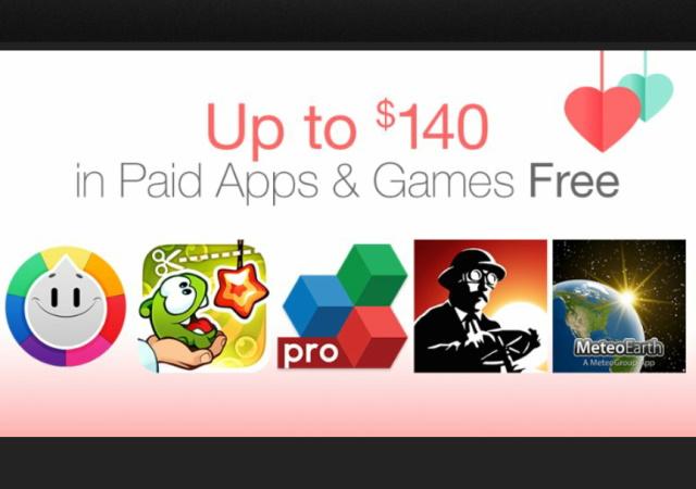 Amazon App Store 不定期大方送又來了,4,500元 App 免費抓