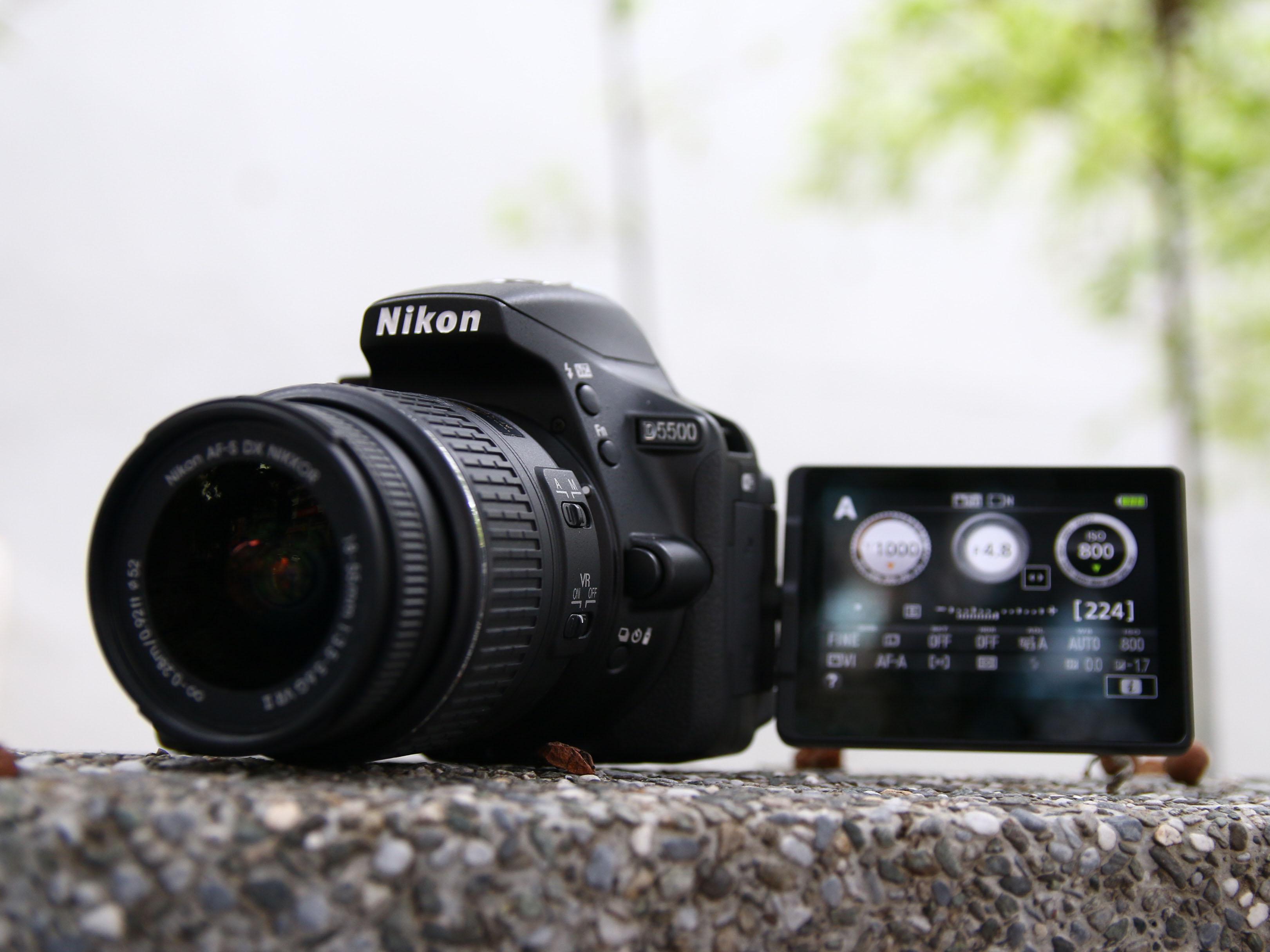 Nikon D5500評測:輕量媲美微單、觸控新體驗