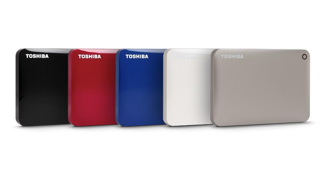 經典再進化!Toshiba推出Canvio Connect II外接式硬碟  2TB大容量  結合時尚精緻外型與多款經典顏色選擇