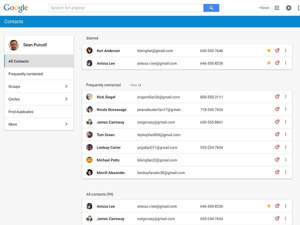 受夠了簡陋版的網頁Google通訊錄?全新的「Google聯絡人」現在可搶先體驗
