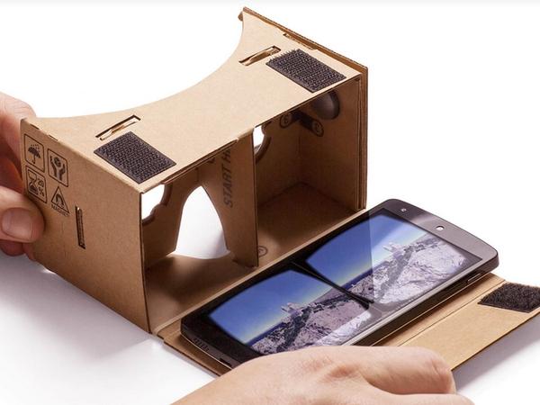 台幣200元組裝紙盒版 Google Cardboard 眼鏡,動態玩實境遊戲 還能看3D電影