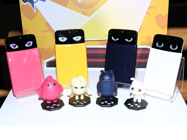 超萌 LG AKA 大眼手機,可換殼變身 還能對你眨眨眼