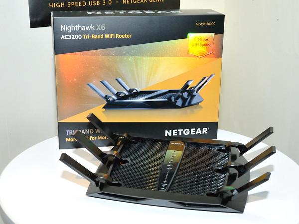 Netgear Nighthawk X6 R8000 無線路由器將在台開賣,三頻機種大戰近了