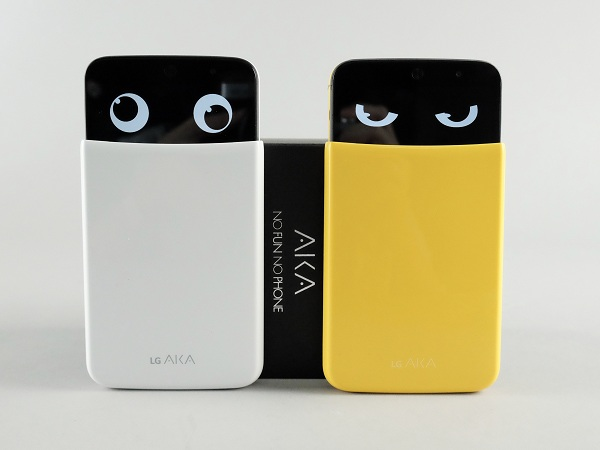 LG AKA 大眼手機動手玩,可愛外型凌駕規格的入門手機