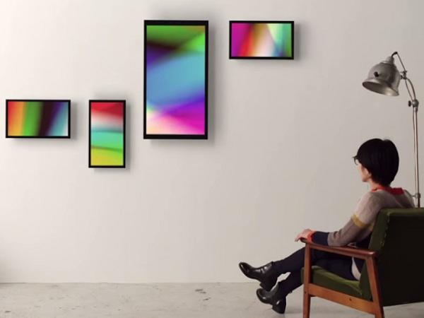 台日合作的新創團隊設計,這款物聯網畫框讓你家升級成數位畫廊