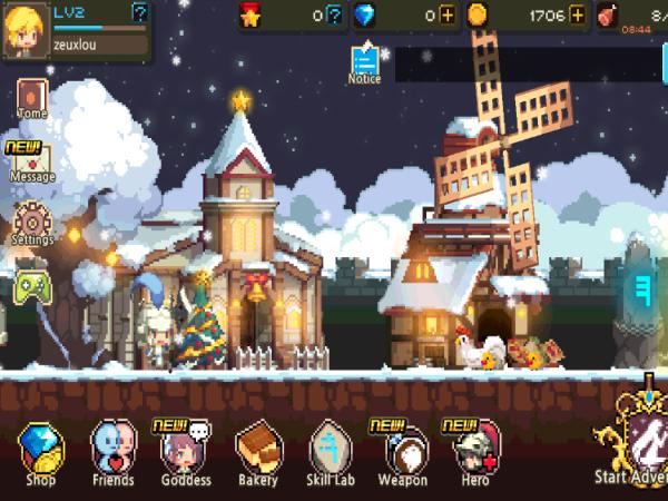 三消角色扮演手機遊戲《克魯賽德戰記 Crusaders Quest》新手教學、遊戲介面簡介
