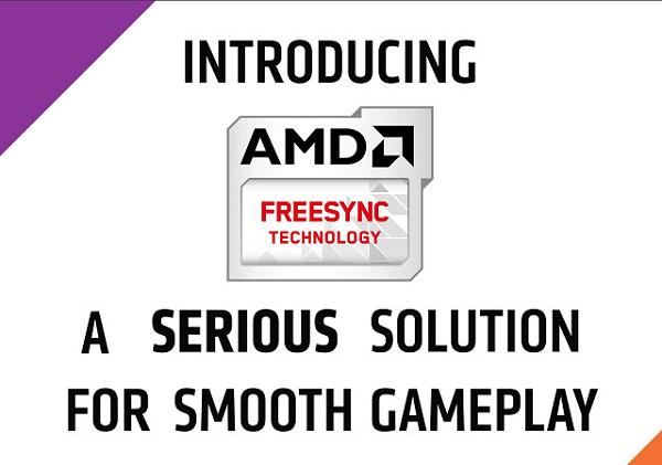 AMD FreeSync 顯示器開始出貨,與 NVIDIA G-Sync 大戰即將開打