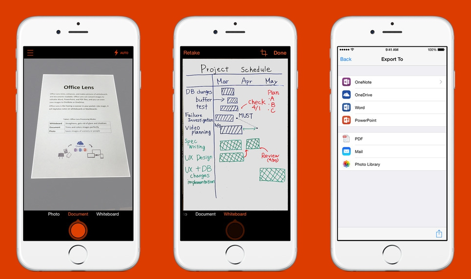微軟在iOS/Android上架Office Lens,拍張照圖片辨識轉成Word檔