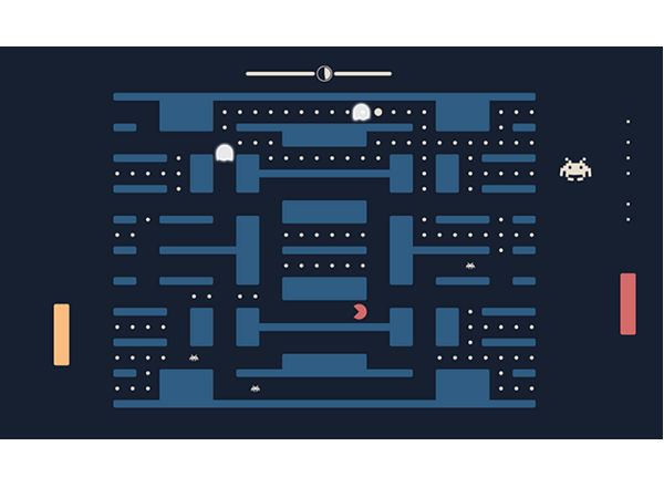 神作!小精靈+乒乓+太空侵略者 3大經典遊戲參在一起,玩法引人錯亂
