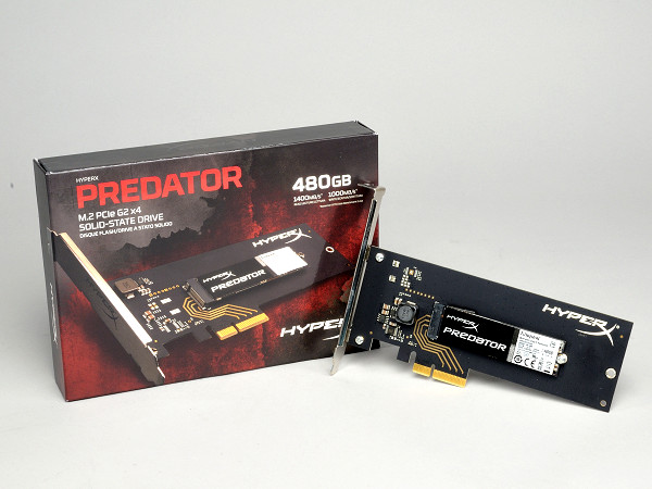 Kingston HyperX Predator PCIe SSD 實測,PCIe 2.0 x4 設計方案給你 1.4GB/s 高速