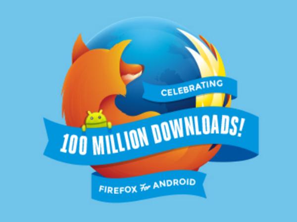 超越 Opera,Firefox for Android 突破一億次下載