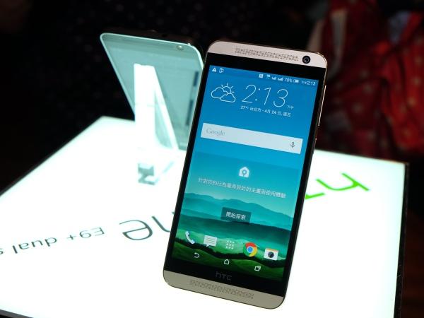 HTC One E9+ 上市,5.5 吋 2K 大螢幕售價 15,900 元