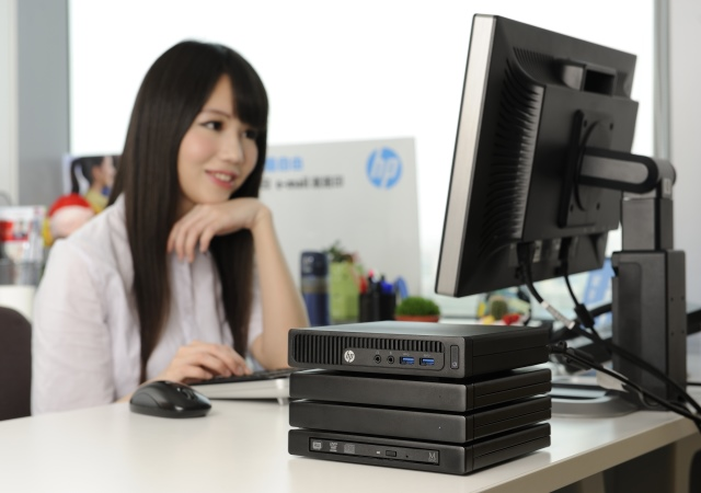 HP 260 G1 迷你桌機和你一起激發辦公室的簡約風情!