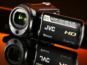 JVC GZ-HM550,藍牙DV活化攝錄影機應用