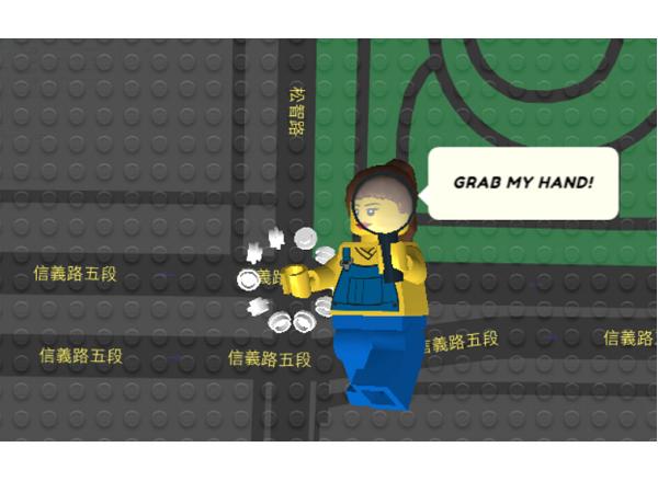 看,程式設計師在 Google Maps 上用樂高搭建了一個世界