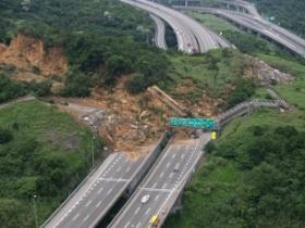 從Google Maps看國道三號走山