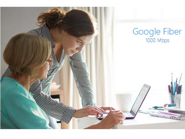 使用 Google Fiber寬頻在家下載盜版內容,會收到 Google 轉發的罰款通知
