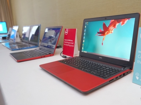 Computex 2015:Dell 展出多款將搭載 Windows 10 之筆電
