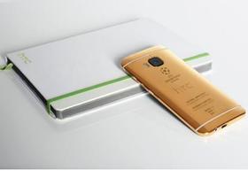 尷尬!HTC One M9黃金特製版的宣傳圖,被抓包是用iPhone拍的