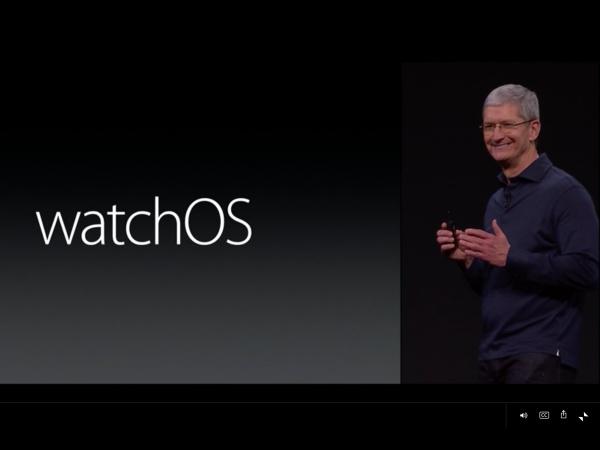 Apple Watch OS 2  發佈:強化自訂、更多的 App 與社群功能,並且第三方 App 內容也可顯示