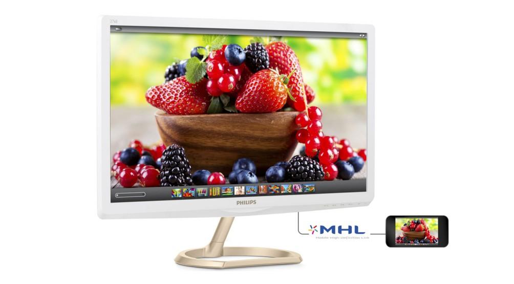 不讓電視機專美於前,首款量子點顯示器 Philips 276E6ADSW 上市