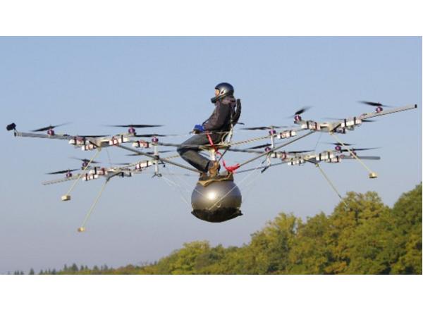 Volocopter:18旋翼可載人遙控機