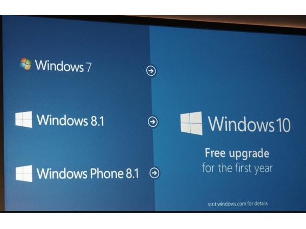 微軟釋出 Windows 10 升級時間表:Windows 7/8.1使用者,7/29當天不見得能升級