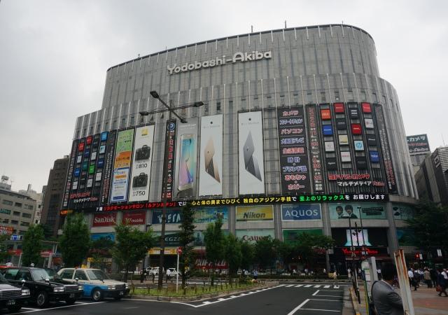 再次前進秋葉原,看看可以抗衡光華商圈的日本電器行Yodobashi-Akiba