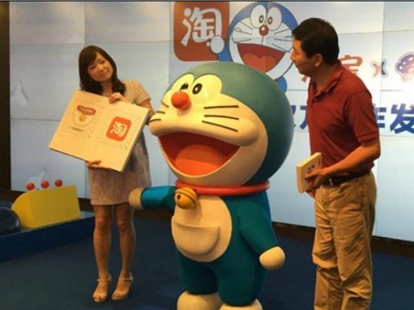 哆啦A夢到中國變成淘寶代言人,大雄你知道嗎?