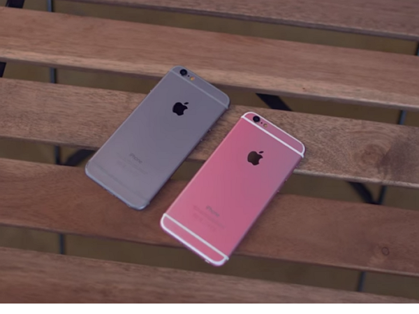 iPhone 6s還未發佈,山寨 iPhone 6s 玫瑰金版開箱影片先來亂