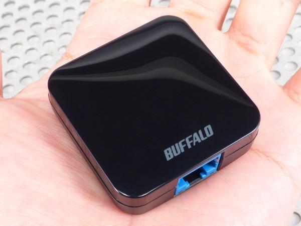 比手掌還要小!Buffalo WMR-433 雙頻 802.11ac 無線分享器