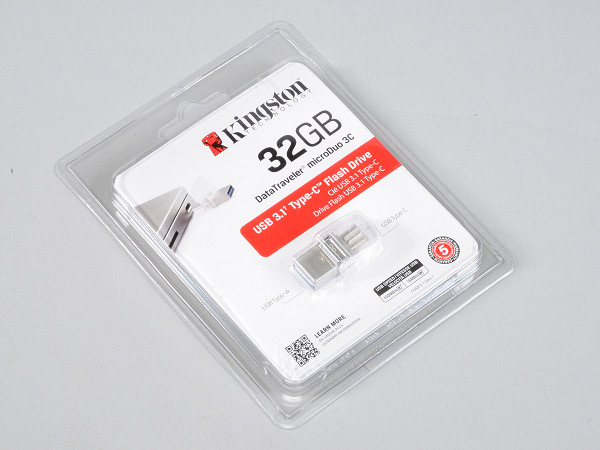 Kingston DataTraveler microDuo 3C,USB 3.1 Type-C 雙頭龍隨身碟實測