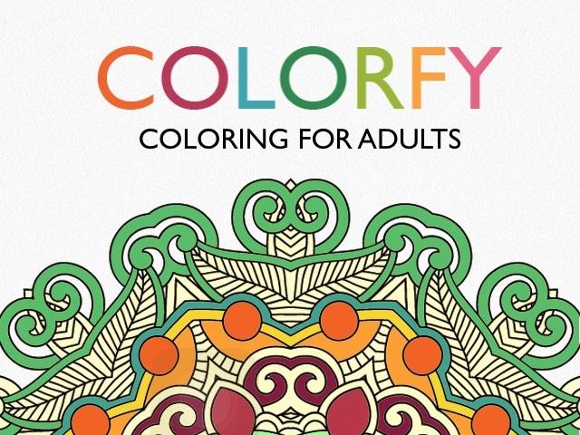 大人也愛玩繪本!Colorfy 著色App 玩起來好療癒