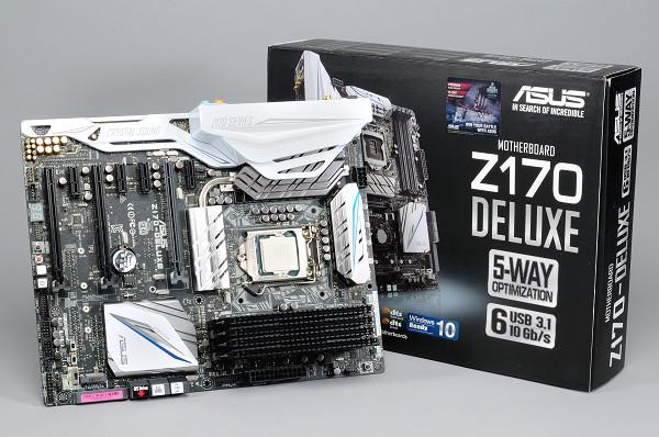 Asus Z170-DELUXE 高階 Skylake-S 主機板,極盡可能堆料之作