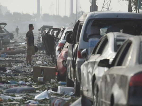 擋不住的真相!多名攝影師記錄天津災難現場,如廢墟般的慘烈景象