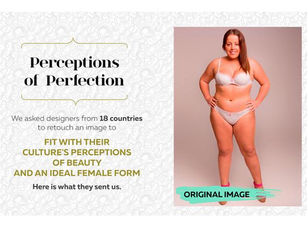 看完18個國家的設計師怎麼PS這張人像圖,你會覺得美圖秀秀弱爆了