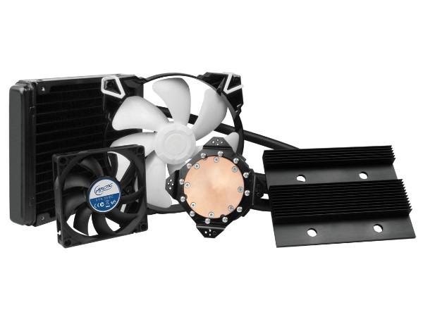 VRM 和記憶體兼顧,Arctic 推出 Accelero Hybrid III-140 顯示卡散熱器