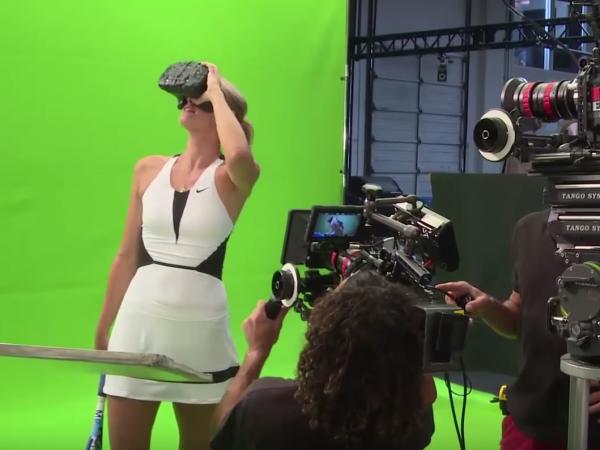 HTC Vive 進軍美網,實境對戰莎拉波娃的擊球與嘶吼