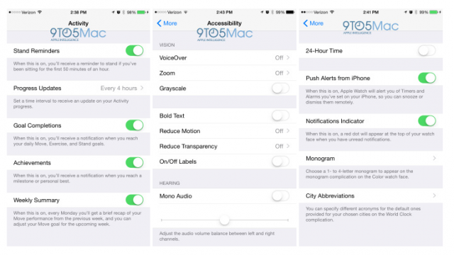 Apple Watch的好「伴侶」,藏在iOS 8.2 beta 4之中