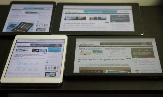 傳蘋果謹慎評估今年底推出12.9寸的iPad Pro