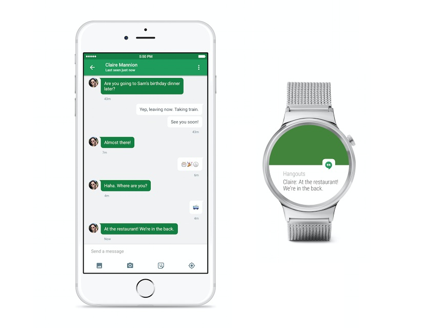 Android Wear 登上 iOS:就算你是用 iPhone ,也能配對使用 Android 智慧手錶!
