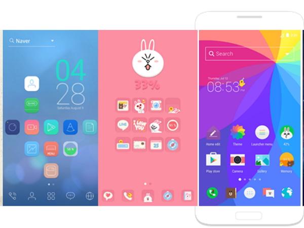 讓熊大、兔兔變成你的專屬手機背景, LINE Launcher Android版正式上線
