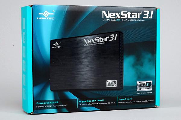 Vantec NexStar 3.1:2.5 吋 USB 3.1 Gen 2 硬碟外接盒實測