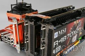瞬間耗電達775W的Radeon HD 4870X2 CF