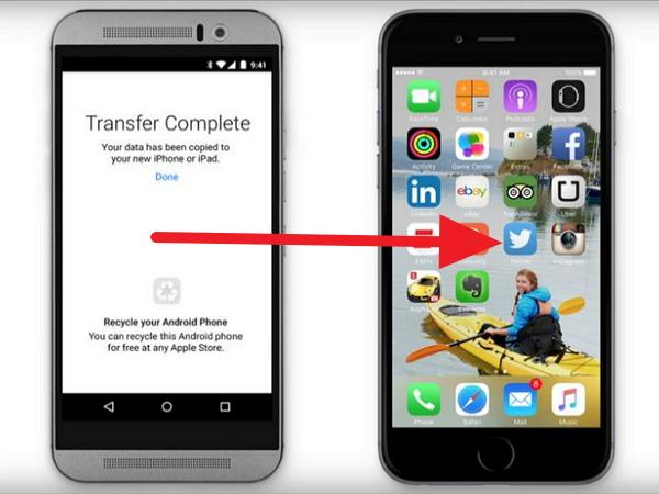 蘋果的「Move to iOS」搬家程式 Google Play上架,Android使用者怎麼看?