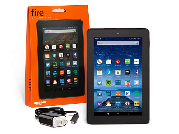 Amazon推出不到台幣兩千元超便宜平板Amazon Fire,還買五送一!