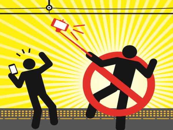 JR西日本月台全面禁用自拍棒,警告就算沒碰到電車線也有觸電危險